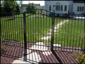 Jerith Style Gates Ornamental Aluminum Fence And Gates