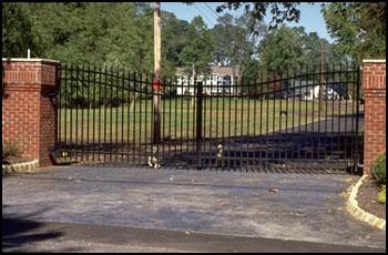 111 Style Estate Gate